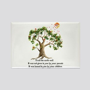 Kenyan Nature Proverb Rectangle Magnet